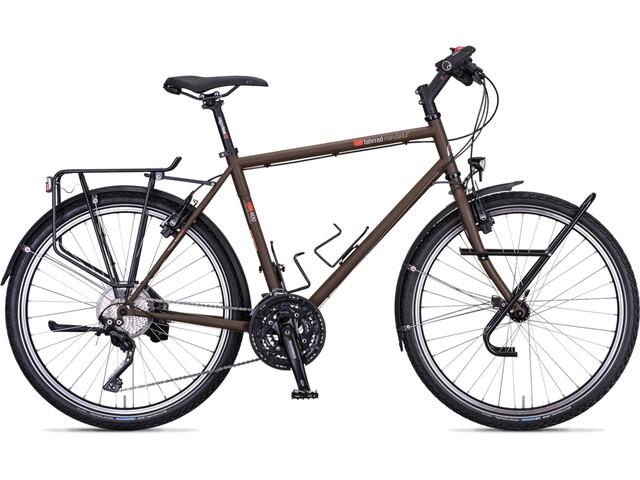 "vsf fahrradmanufaktur TX-400 Touring Bike Diamond XT 30-Speed 26"" brown"